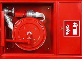 Шкафы и щиты пожарные, инвентарь