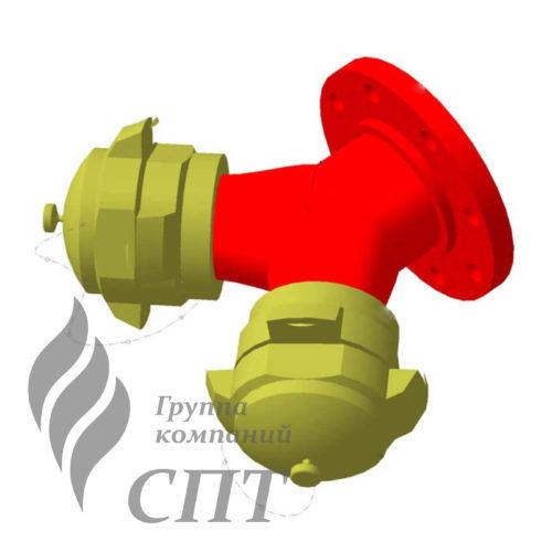 Соединение устройство для подключения пожарной техники