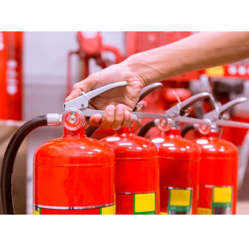 Услуги в области пожарной безопасности